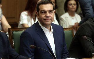 Ο πρωθυπουργός Αλέξης Τσίπρας προεδρεύει στη συνεδρίαση του Υπουργικού Συμβουλίου με τη νέα σύνθεσή του σε αίθουσα της Βουλής, Αθήνα, Παρασκευή 31 Αυγούστου 2018. ΑΠΕ-ΜΠΕ/ΑΠΕ-ΜΠΕ/ΣΥΜΕΛΑ ΠΑΝΤΖΑΡΤΖΗ