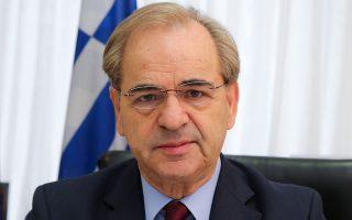 O Xαράλαμπος Γκότσης, πρόεδρος της Eπιτροπής Kεφαλαιαγοράς.
