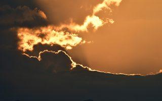 Ο ήλιος δύει πίσω από σύννεφα στον ουρανό του Ναυπλίου, Παρασκευή 14 Σεπτεμβρίου 2018. ΑΠΕ-ΜΠΕ/ ΑΠΕ-ΜΠΕ/ ΜΠΟΥΓΙΩΤΗΣ ΕΥΑΓΓΕΛΟΣ