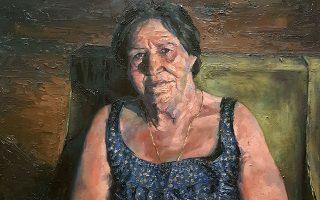 Πορτρέτο της γιαγιάς του.