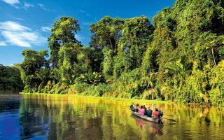 Βαρκάδα στο Εθνικό Πάρκο Τορτουγκέρο της Κόστα Ρίκα. (Φωτογραφία: VISUALHELLAS.GR)