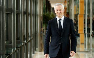 Ο Μπρινό Λε Μερ, υπουργός Οικονομικών της Γαλλίας, υποστήριξε την πρότασή του προσφέροντας στις χώρες που διαφώνησαν μια εναλλακτική πρόταση.