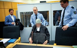 Ο Γιόχαν Ρέμπογκεν χθες, στο δικαστήριο του Μίνστερ.