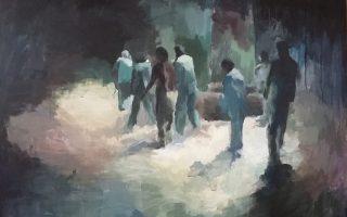 «The Circle», έργο της Μαριαλένας Σαχπατζίδου που περιλαμβάνεται στην ομαδική έκθεση «Σεκάνς», Μουσείο Γ. Γουναρόπουλου, Γουναροπούλου 6, Ανω Ιλίσια. Εγκαίνια: 12 Δεκεμβρίου.