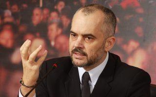 Ο Αλβανός πρωθυπουργός Εντι Ράμα ανέφερε ότι «το δικό μας κράτος δεν πολεμάει με προβοκάτορες σε κηδείες».