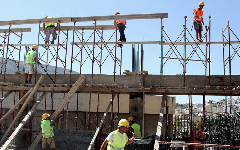 Ανοδο κατά 13,3% σημείωσαν οι οικοδομικές άδειες τον Αύγουστο