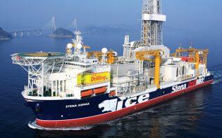Το πλωτό γεωτρύπανο «Stena ICEMAX», υπό βρετανική σημαία, έφθασε στο σημείο γεώτρησης χωρίς απρόοπτα.