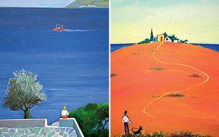 Ζωγράφος του χρώματος, ο Κοκκινίδης ξέρει να το χειρίζεται ποιητικά. Ολα τα έργα της νέας έκθεσης έχουν δημιουργηθεί τα τελευταία δύο χρόνια.