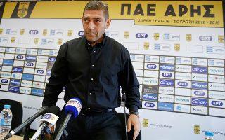Ο Ελληνας προπονητής του Αστέρα μέχρι την περασμένη Κυριακή είναι από χθες ο τεχνικός του Αρη.