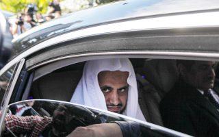 O γενικός εισαγγελέας της Σαουδικής Αραβίας, Σαούντ αλ Μουτζέμπ.