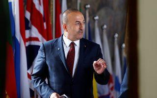 Η τοποθέτηση του Μεβλούτ Τσαβούσογλου έγινε σε συνομιλία του με Τούρκους βουλευτές κατά τη διαδικασία της συζήτησης για την κατάθεση του επόμενου προϋπολογισμού.