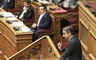 Ο Κυριάκος Μητσοτάκης κατέθεσε επίκαιρη ερώτηση προς τον πρωθυπουργό, με θέμα τη γενικευμένη κατάσταση ανομίας που επικρατεί στα πανεπιστήμια.