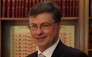 Ο προϋπολογισμός της Ιταλίας παρεκκλίνει σε μεγάλο βαθμό από αυτά που ζήτησε η Ευρωπαϊκή Επιτροπή, δήλωσε ο αντιπρόεδρος της Κομισιόν, Β. Ντομπρόβσκις.