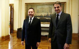 Ο Κυριάκος Μητσοτάκης συναντήθηκε χθες με τον διοικητή της Τράπεζας της Ελλάδος Γιάννη Στουρνάρα, για το ζήτημα των κόκκινων δανείων.