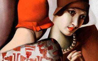Δύο φίλες, 1928. Εργο από την εποχή που είχε ήδη γίνει διάσημη και ζωγράφιζε την παρισινή ελίτ.