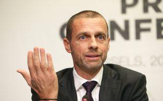 Ο πρόεδρος της UEFA, Αλεξάντερ Σέφεριν, δεν παρέλειψε να στρέψει τα βέλη του κατά της FIFA για το σχέδιο επέκτασης του Παγκοσμίου Κυπέλλου Συλλόγων.