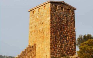 Η αναστήλωση του πύργου έχει ολοκληρωθεί εδώ και τρεις μήνες.