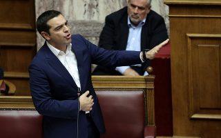 Η πίεση του ΣΥΡΙΖΑ προς το Κίνημα Αλλαγής φάνηκε καθαρά από τη σφοδρή αντιπαράθεση του πρωθυπουργού με τη Φώφη Γεννηματά.