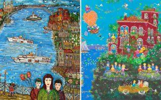 Σύνθεση δύο έργων των εικαστικών Hatice Kumbaraci Gürsöz και Σοφίας Καλογεροπούλου με κέντρο αναφοράς την Κωνσταντινούπολη.