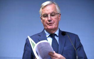 Ο επικεφαλής διαπραγματευτής της Ε.Ε., Μισέλ Μπαρνιέ.