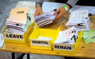 Το βρετανικό δημοψήφισμα που διεξήχθη στις 23 Ιουνίου 2016 έθεσε ένα σαφές ερώτημα και έδωσε μήνες στις δύο πλευρές για να αναπτύξουν τις θέσεις τους. Παρ' όλα αυτά, πολλοί πιστεύουν ότι δεν έπρεπε να είχε προκηρυχθεί.