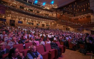 Το κοινό που παρακολούθησε το πρώτο Singularity Greece Summit στο Μέγαρο Μουσικής απέκτησε μία εικόνα της ταχύτητας με την οποία αλλάζει ο κόσμος.