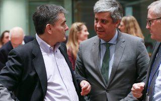 Στο Eurogroup της περασμένης Δευτέρας, ο υπουργός Οικονομικών Ευκλείδης Τσακαλώτος και ο πρόεδρος του Eurogroup Mάριο Σεντένο συζήτησαν, σύμφωνα με πληροφορίες, τις προοπτικές συμφωνίας στον προϋπολογισμό του 2019, ενόψει των πιθανών γερμανικών επιφυλάξεων.