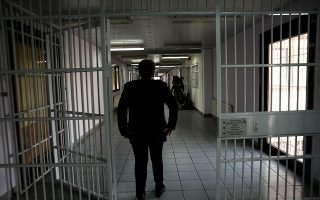 Οι διάδρομοι με τα κελιά των κρατουμένων γυναικών στη νέα αγροτική φυλακή γυναικών στον Ελαιώνα Θηβών, Τετάρτη 18 Οκτωβρίου 2017.   ΑΠΕ-ΜΠΕ/ΑΠΕ-ΜΠΕ/ΣΥΜΕΛΑ ΠΑΝΤΖΑΡΤΖΗ