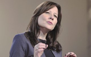 «Προχωρούμε στη λήψη αυτών των μέτρων ενώ ακόμα η αμερικανική οικονομία είναι ρωμαλέα και εξίσου ρωμαλέα είναι και η εταιρεία», δήλωσε η επικεφαλής της GM Μέρι Μπάρα.