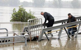 ITALY FLOOD RIVER PO