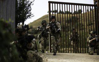 Οι συνεκπαιδεύσεις ελληνικών και αμερικανικών Ενόπλων Δυνάμεων αυξάνονται ραγδαία. Τον Δεκέμβριο αναμένεται να ολοκληρωθεί η άσκηση ειδικών δυνάμεων «Jackal Stone». Στη φωτογραφία, Αμερικανοί κομάντος.