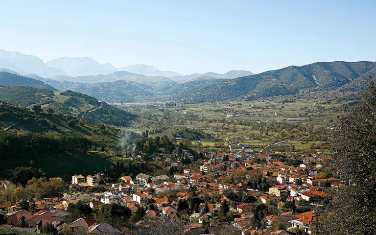 Το χωριό από ψηλά. (Φωτογραφία: ΝΙΚΟΣ ΚΟΚΚΑΣ)