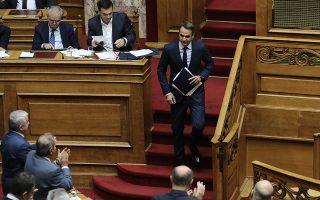 Προεκλογική αντιπαράθεση «κορυφής» μεταξύ του Αλέξη Τσίπρα και του Κυριάκου Μητσοτάκη θα εξελιχθεί τις ερχόμενες εβδομάδες.