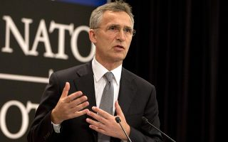 FILE - In this June 13, 2016 file photo, NATO Secretary General Jens Stoltenberg speaks in Brussels. NATO agreed Tuesday, June 14, 2016, to make cyber operations part of its war domain, along with air, sea and land operations, and to beef up the defense of its computer networks. Stoltenberg said the decision to formally consider cyberoperations a military domain is not aimed at any one country. He says the allies need to be able to better defend themselves and respond to attacks on their computer networks. (AP Photo/Virginia Mayo, File)