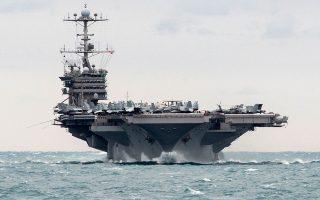 Στα τέλη του μήνα αναμένεται να φθάσει στην περιοχή το αμερικανικό αεροπλανοφόρο «USS Harry S. Truman» και θεωρείται σχεδόν βέβαιο ότι ελληνικά πλοία θα συμμετάσχουν σε ασκήσεις συνεκπαίδευσης με την ομάδα κρούσης που το συνοδεύει.