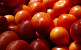 Ντομάτες σε λαϊκή αγορά του Ναυπλίου , Τετάρτη 4 Απριλίου 2012 . ΑΠΕ-ΜΠΕ /ΑΠΕ-ΜΠΕ/ΜΠΟΥΓΙΩΤΗΣ ΕΥΑΓΓΕΛΟΣ