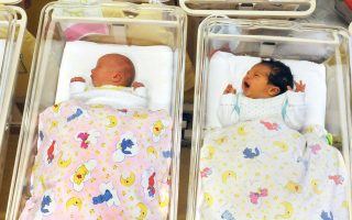 GERMANY-NEW-YEAR-BABY