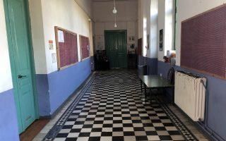 Φωτογραφία που δόθηκε σήμερα στη δημοσιότητα και εικονίζει το ιστορικό σχολείο στη Βολισσό Χίου,  22 Σεπτεμβρίου 2018, Κυριακή 14 Οκτωβρίου 2018. ΑΠΕ-ΜΠΕ/ΑΠΕ-ΜΠΕ/Αλεξάνδρα Χατζηγεωργίου