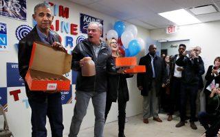 Election 2018 Kaine Obama