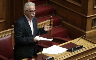 Ο υπουργός Παιδείας Κώστας Γαβρόγλου απαντάει σε επίκαιρες επερωτήσεις βουλευτών στην Ολομέλεια της Βουλής, Αθήνα, Παρασκευή 29 Ιουνίου 2018. ΑΠΕ-ΜΠΕ/ΑΠΕ-ΜΠΕ/ΣΥΜΕΛΑ ΠΑΝΤΖΑΡΤΖΗ