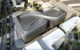 Το νέο εμπορικό κέντρο Zaha Hadid (φωτ.) στη Βηρυτό του Λιβάνου θα φέρει την υπογραφή της Vasiliou Glass Technologies.