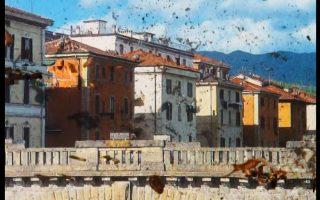 Εγκαίνια για την έκθεση «ΕΜΣΤ στον Κόσμο 3: Ιταλία», στον χώρο περιοδικών εκθέσεων.