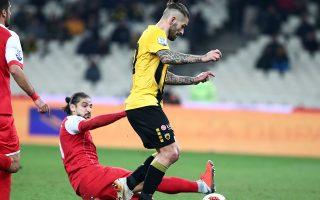 Ο Κροάτης άσος της ΑΕΚ δεν πανηγύρισε το γκολ που πέτυχε.