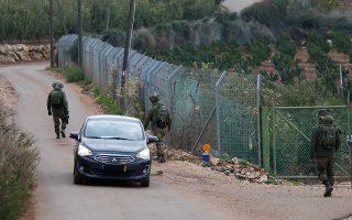 Εβδομάδες θα διαρκέσουν οι εργασίες του στρατού στο βόρειο Ισραήλ.
