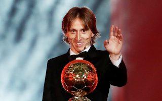 Υστερα από το 2007, ο Λούκα Μόντριτς έσπασε την κυριαρχία των Λιονέλ Μέσι και Κριστιάνο Ρονάλντο στη «Χρυσή Μπάλα».