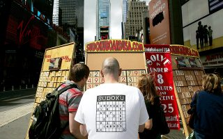 Το sudoku σίγουρα είναι ένας ευχάριστος τρόπος να περνάς την ώρα σου, αλλά δεν μπορεί να δράσει ως ασπίδα προστασίας έναντι της άνοιας.