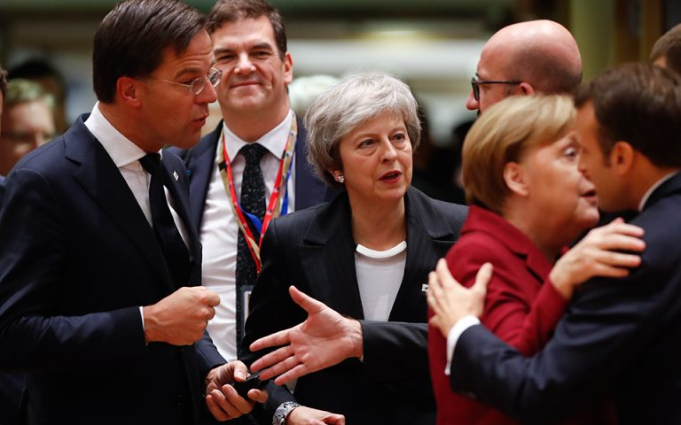 Με «άδεια χέρια» έφυγε η Τερέζα Μέι από τη Σύνοδο Κορυφής