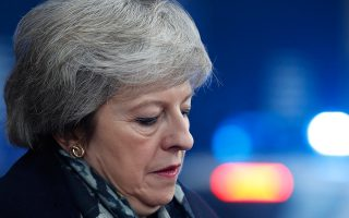 H Βρετανίδα πρωθυπουργός την Πέμπτη στις Βρυξέλλες.