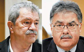 Αριστερά, στον Δήμο Δέλτα, υποψήφιος θα είναι ο νυν δήμαρχος Ευθύμιος Φωτόπουλος. Δεξιά, στον Δήμο Θερμαϊκού, υποψήφιος θα είναι ο νυν δήμαρχος Γιάννης Μαυρομάτης.