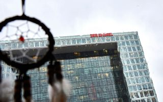 Τα κεντρικά γραφεία του Spiegel στο Αμβούργο της Γερμανίας.